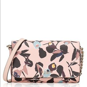NWT Kate Spade Cameron Paper Rose Crossbody Purse